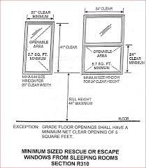 Amazing Egress Requirements For Bedroom Windows Window Egress Adorable Egress Requirements For Bedroom Windows
