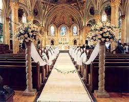 Wedding Design Ideas Floral Church Wedding Decoration Ideas
