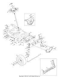 mtd 13ao771h055 2008 parts diagram