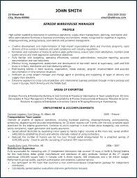Warehouse Worker Sample Resume Sample Warehouse Resume Sample ...