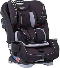 Graco 4ever dlx 4 in 1 car seat, infant to toddler car seat, with 10 years of use, fairmont. Graco Slimfit All In One Car Seat Group 0 1 2 3 Birth To 12 Years Approx 0 36 Kg Black Amazon Co Uk Baby Products