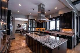 dark cabinets white countertop dark kitchen cabinets and white wave granite houzz white kitchen cabinets black