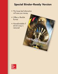 Loose Leaf for Thermodynamics: An Engineering Approach book by Dr ...
