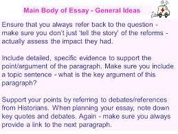 labour welfare reforms essay tips ppt video online main body of essay general ideas