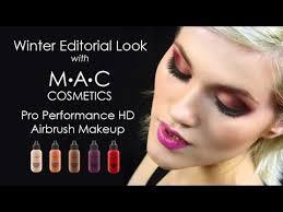 mac pro performance hd editorial demo tutorial trucco aerografo con mac cosmetics