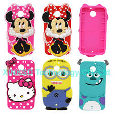 motorola phone cases. aliexpress.com : buy cartoon 3d hello kitty minnie sully minions silicone cell phone case cover skin for motorola moto x2 x 2nd gen x+1 2014 from cases e