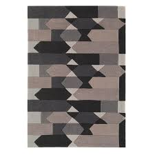 harlequin ha14 9a grey abstract rug by asiatic 1