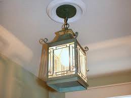 replace recessed light with a pendant