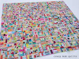 Scrappy Quilt Patterns Mesmerizing Crazy Mom Quilts Scrap Vortex QALweek One