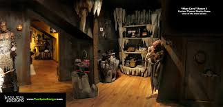 Movie Themed Living Room Custom Man Cave Horror Themed Home Theater Movie Prop Museum