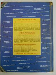 shown below is an enlargement of the text area of the first edition back covers note that only the first six books in the series are listed and that they