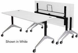 flip top training tables in maple white mocha or cherry 60