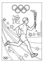 Olympic Coloring Pages Plus Other Olympic Activities Tons Of