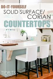 diy solid surface corian countertops