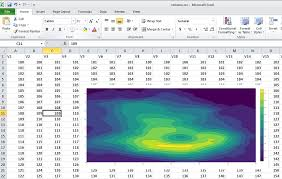 Make A Contour Plot Online With Chart Studio And Excel