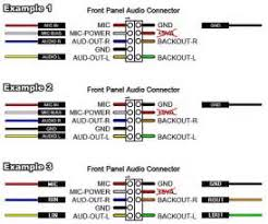 similiar front panel audio connector diagram keywords front panel audio connector diagram