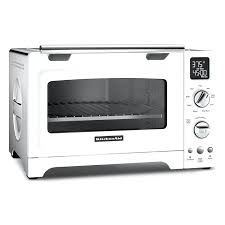 small countertop convection oven inch convection oven white compact countertop microwave convection oven