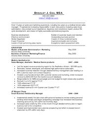Sample Resume Of Medical Sales Representative New Medical Sales