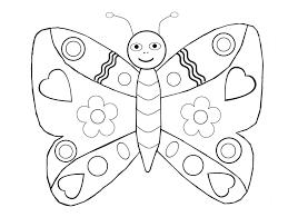 Papillons 4 Coloriage De Papillons Coloriages Pour Enfants