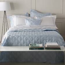 Matouk - Luna Quilted Bed Linens