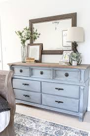 cottage style bedroom furniture. Blue Cottage Style Guest Bedroom Makeover | Blesserhouse.com - A Dark And Dated Gets With Serene Shades Of Using Furniture O