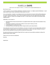 bookkeeper cover letter exles