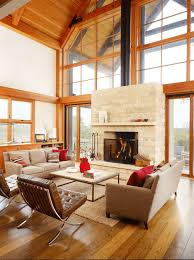 living in style furniture. contemporary farmhouse style living room with modern architecture and furniture in