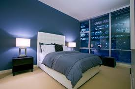 Modern Bedroom Design Ideas with Blue Color Scheme