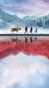 Frozen II (2019) Phone Wallpaper | <b>Дисней</b> пиксар, Фильмы диснея ...