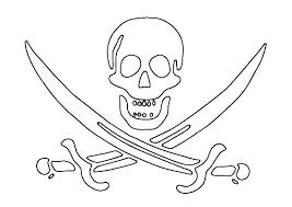 Skull And Crossbones Coloring Pages Mosshippohaven