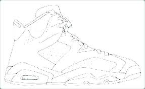 Jordan Coloring Pages Shoes Refinancemortgageratesco