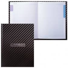 "<b>Бизнес</b>-<b>Блокнот ХАТБЕР А5 80л</b> ""Carbon Style"" 80ББ5В1 ..."