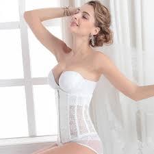 plus size strapless shapewear wedding dress shapewear wedding corners