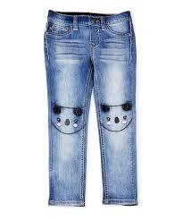 Vigoss Lightning Blue Koala Skinny Jeans Toddler