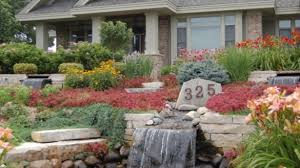 Front Yard Landscape With Rocks Interior Hostalmyhomecom front