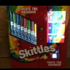 Skittles Vending Machine Classy SKITTLES VENDING MACHINE On The Hunt