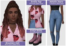 Elliandra | Maxis match, Sims 4, Sims 4 mm cc