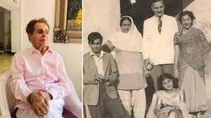 Dilip Kumar shares priceless throwback ...