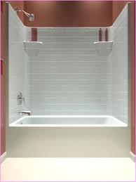 tub shower insert one piece tub shower combo home design ideas shower tub surrounds menards tub shower
