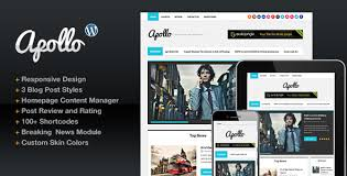 Custom Newspaper Template Download S2 Apollo Themeforest Modern Magazine Newspaper Template