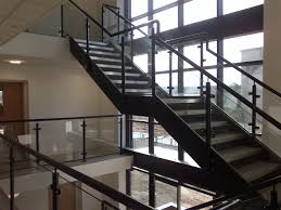 Stacked Office Staircases modern-staircase
