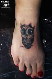 Owl Tetování Sova