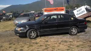 99 Toyota avalon 296K auto cold a/c salvage title - YouTube