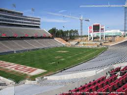 Carter Finley Stadium Seating Chart Rows Carter Finley Stadium View From Middle Level 210 Vivid Seats