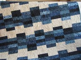 429 best Quilts ~ Batiks images on Pinterest   Quilt patterns ... & This batik quilt is really stunning. I used blue colored fabrics offset by  a cream Adamdwight.com