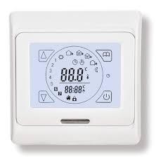 Комнатный термостат <b>Techno</b>-Warm E91 (сенсорное управление ...