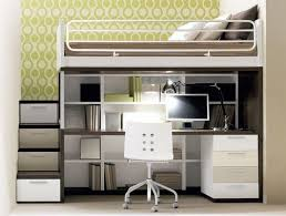 Full loft bed with desk and stairs - Desk : Interior Design Ideas | For  Jessi | Pinterest | Bunk bed desk, Desks and Lofts