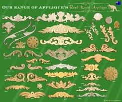 wood furniture appliques. Onlays And Appliques Architectural Furniture Applique Or Shabby French Chic Real Wood Decorative . S