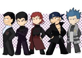 Team Leaders Team Leaders Chibi Pokemon Villians Fan Art 24473181