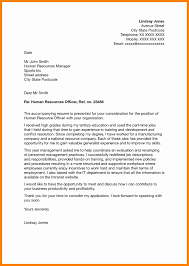 8 Human Resources Intern Cover Letter Letter Signature